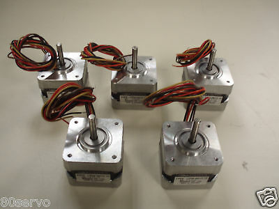 Minebea Step Stepper Motor #17Pm-M012-13  ( Lot Of 5 )