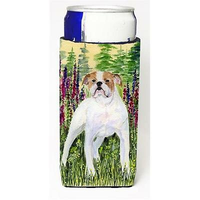 English Bulldog Michelob Ultra bottle sleeves For Slim Cans 12 oz.