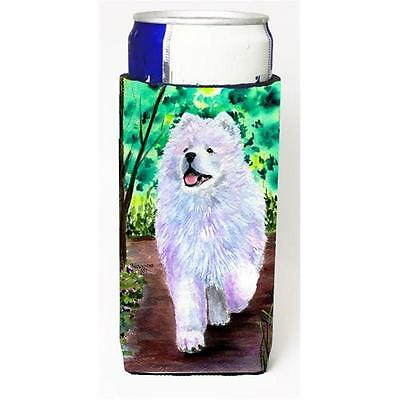 Carolines Treasures Samoyed Michelob Ultra bottle sleeves for slim cans 12 oz. • AUD 47.47