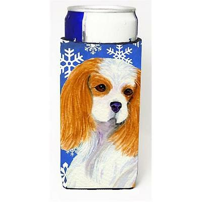 Cavalier Spaniel Winter Snowflakes Holiday Michelob Ultra bottle sleeves For ...
