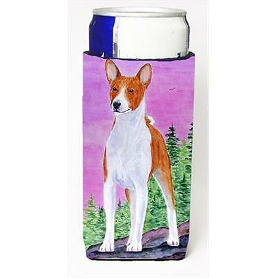 Carolines Treasures Basenji Michelob Ultra bottle sleeves For Slim Cans
