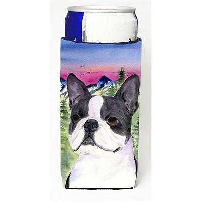 Boston Terrier Michelob Ultra bottle sleeves For Slim Cans 12 oz. • AUD 47.47