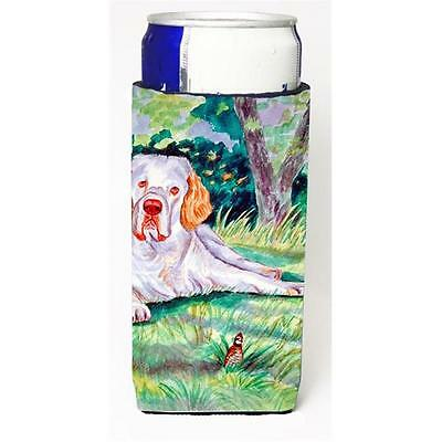 Clumber Spaniel Michelob Ultra bottle sleeves For Slim Cans 12 oz.