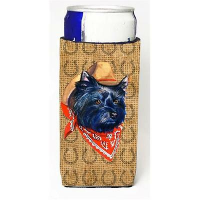 Cairn Terrier Dog Country Lucky Horseshoe Michelob Ultra bottle sleeves For S...