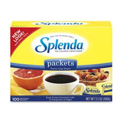 Johnson & Johnson JOJ200025 Splenda Sugar Substitute Packets, 1.0g, 100-BX