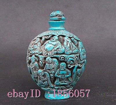 Rare Collectable Eight Immortals Snuff Bottles