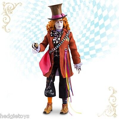 MAD HATTER Disney Collection Doll - Alice Through the Looking Glass Johnny Depp