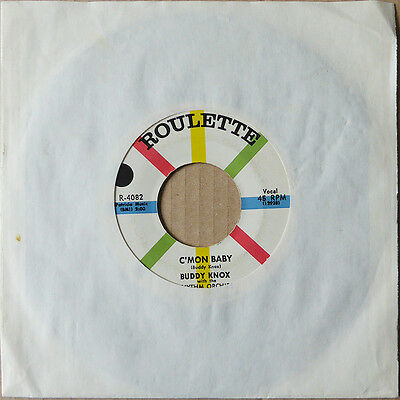 """7"""" Buddy Knox - Somebody Touched Me / C'Mon Baby - USA 1958 - Top Rock 'n' Roll"""