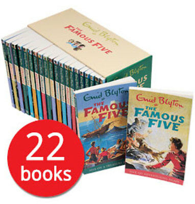 The Famous Five Boxed Collection - 22 Books
