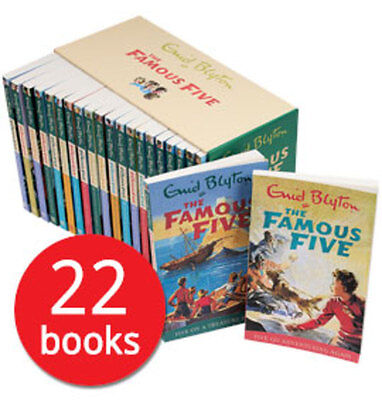 The Famous Five: Complete Collection - 22 Books