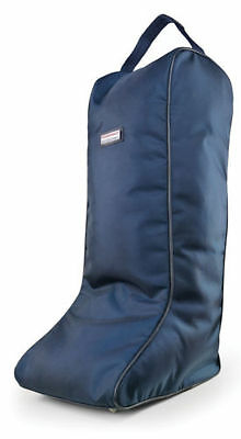 NEW IN- John Whitaker Atlanta Long Boot Bag-Navy-One Size-Fast+Free P&P