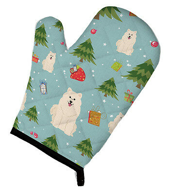 Carolines Treasures  BB4690OVMT Christmas Samoyed Oven Mitt