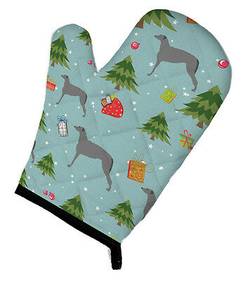 Carolines Treasures  BB4820OVMT Christmas Scottish Deerhound Oven Mitt