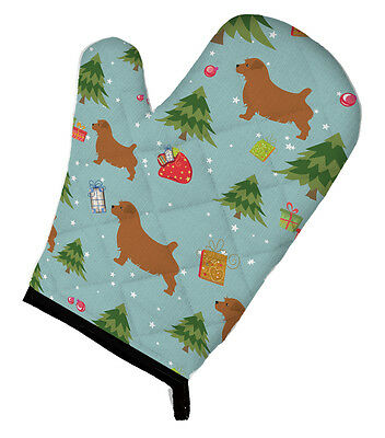 Carolines Treasures  BB4833OVMT Christmas Norfolk Terrier Oven Mitt