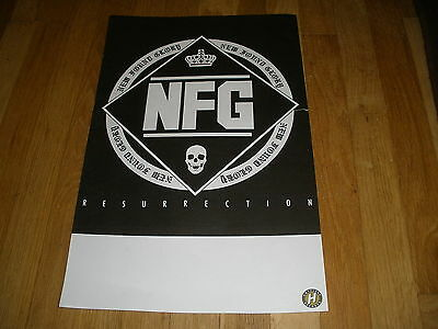 NFG NEW FOUND GLORY resurrection CD record RELEASE POSTER