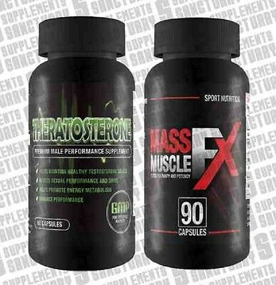 Theratosterone & Mass muskel FX( & )Muskel, macht,fitness,bodybuilding