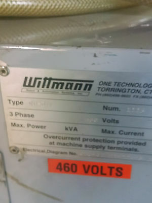Water Cooled Chiller Wittmann CoolPro Model 2A