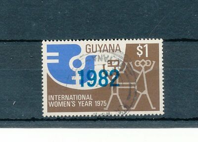 Guyana 1982 Int. Decade for Women single value used
