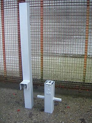 removable security post driveway post bollard