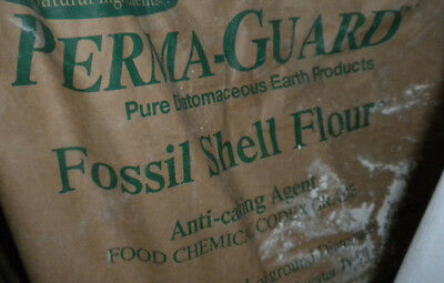 1/2 pound 100% pure Diatomaceous Earth home garden Feed Grade fossil shell flour