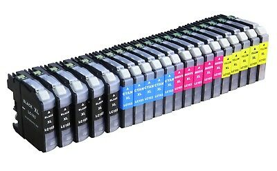 20 Pack LC103 NEW VERSION Ink Cartridge For Brother DCP-J152W MFC-J475DW Printer
