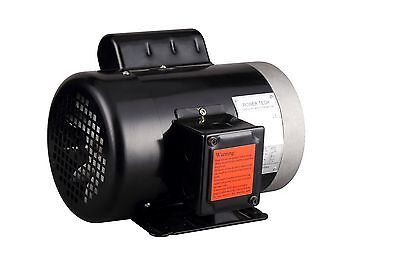 """1HP Electric Motor, 5/8"""" Shaft General Purpose, 1 Phase, 115/230V, 56C, 3450RPM"""