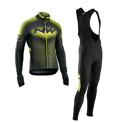 Northwave Completo Invernale Extreme Total Protectic Nero Giallo Fluo