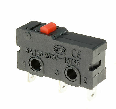 5 x Push Button Microswitch SPDT 5A Micro Switch