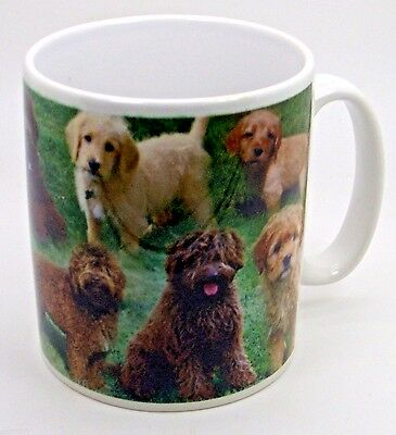 ~ Labradoodle Collage Mug ~  Ceramic Dog Mug
