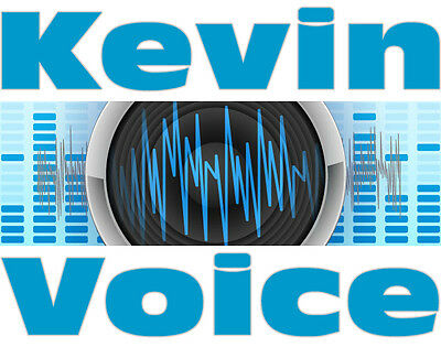 FULL RADIO TV WEBSITE COMMERCIAL SPOT AUDIO Pro Male or Female Voiceover Talent!