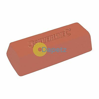 Red Polishing Compound Buffing Copper Brass Steel 500G Professional Tool