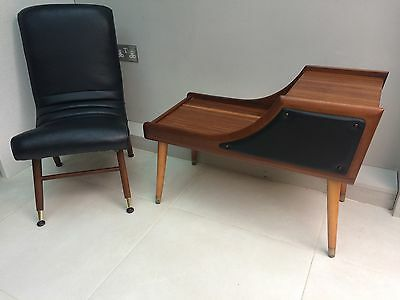 Vintage Retro Mid Century Modern Atomic Easy Lounge Chair