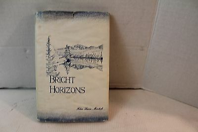 Vintage Bright Horizons Helen Lowrie Marshall Poetry Book Signed religious