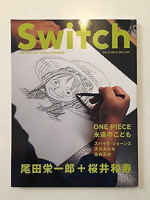 Switch Book Exclusive Eiichiro Oda Reportage & Drawings - Extremely Rare