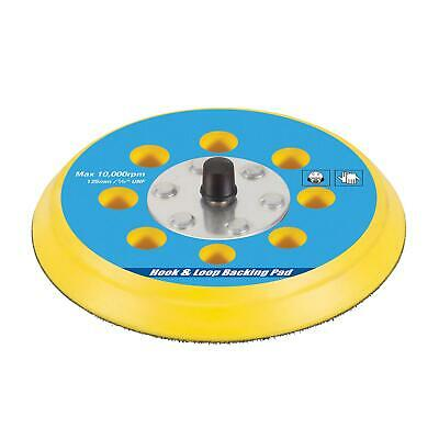 "Hook & Loop Backing Pad 125mm / 5/16"" Unf Polishing With Semi-Flexible Edge"