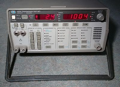 HP 4935A Transmission Test Set Agilent 4935A voice data broadcast analyser