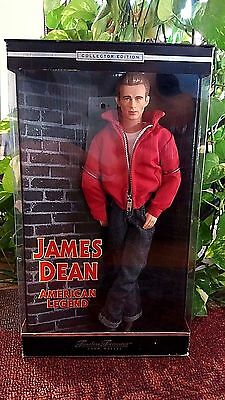 "James Dean American legend 12"" Doll Figure Collector Edition Mattel 2000"