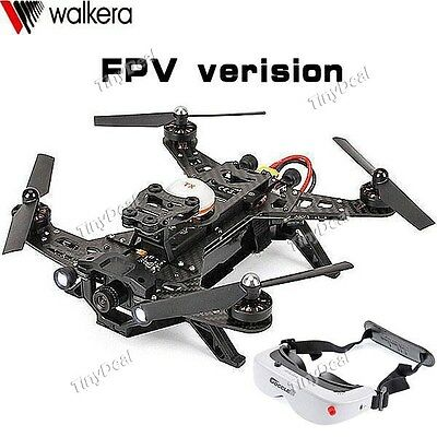 WALKERA RUNNER 250 professional DRONE RACERS FPV ULTRAVELOCE + OCCHIALI GOGGLE 2