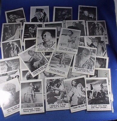 1961  Leaf - Spook Stories - 34 Cards - Good to Excellent Condition