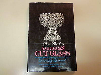 Price Guide to American Cut Glass HBDJ Antique Patterns Reference Dorothy Daniel