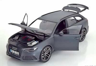 Minichamps 1/18 Audi RS6 Avant Baujahr 2013 Matt Grey 110012012