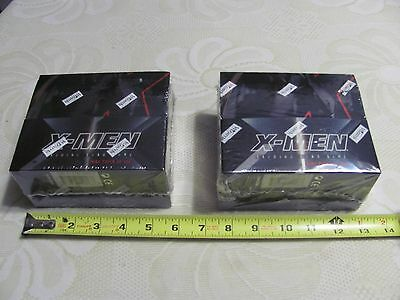 2 X-Men Trading Card Game Booster Cards Boxes 36 Packs Per Box Wizards WOTC 2000