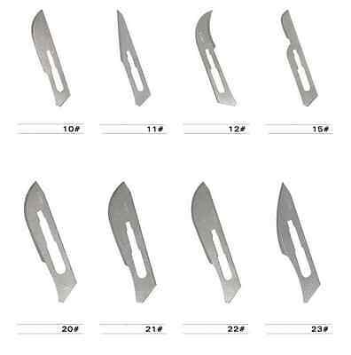 10pcs/bag Non-Sterile disposable Carbon Steel Scalpel Blades Surgical Blades 23#