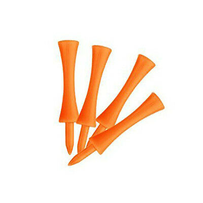 50stk 70mm grosse Burg Golf-Tees (Orange) GY