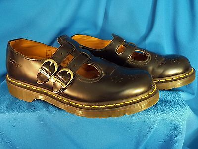Rare Dr Martens The Original Womens UK Size 8/US Size 10 Mary Janes Black Shoes