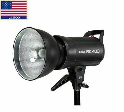 US Shipping Godox SK400 400WS Photo Flash shooting Studio Strobe Light Lamp Head