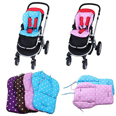 Thick Colorful Baby Infant Stroller Seat Pushchair Cushion Cotton Mat Spirited