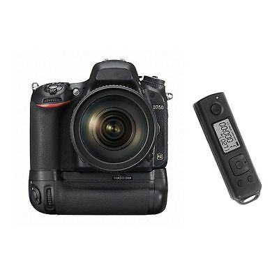 Meike DR750 MB-D16 Wireless Battery Grip w' Remote Controll f EN-EL15 Nikon D750