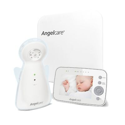 Angelcare AC1300 Digital Video Movement and Sound Baby Monitor - White ❤️️ NEW