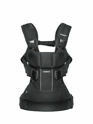 BABYBJORN Baby Carrier One (Black Cotton Mix) ❤️️ NEW